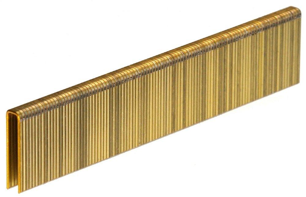 18GA 1/4'' Crown x 1'' Length Galv. 5,000-Pack Senco L Style Staples