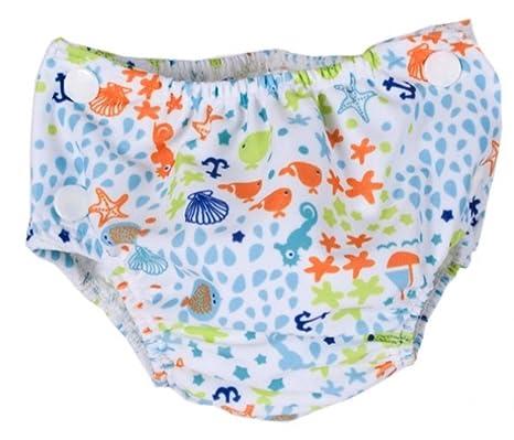 Popolini - Pañales desechables para nadar, talla grande