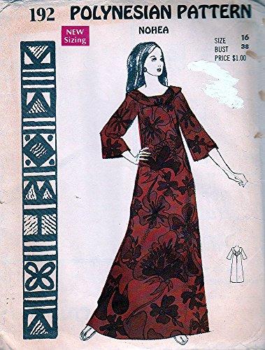 1970's Hawaiian Dress - 5