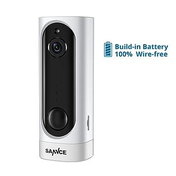 Amazon.com: SANNCE - Cámara de seguridad de batería ...
