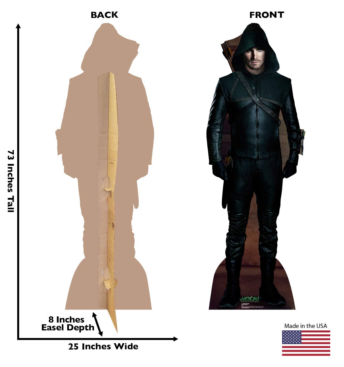 The CWs Arrow 1703 Advanced Graphics Green Arrow Life Size Cardboard Cutout Standup