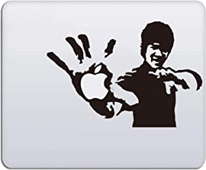 Laptop Stickers - MacBook Decal Sticker (Bruce Lee) for Apple MacBook Pro Air Mac Laptop
