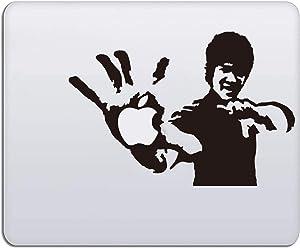 Laptop Stickers - MacBook Decal Sticker (Bruce Lee) for Apple MacBook Pro Air Mac Laptop