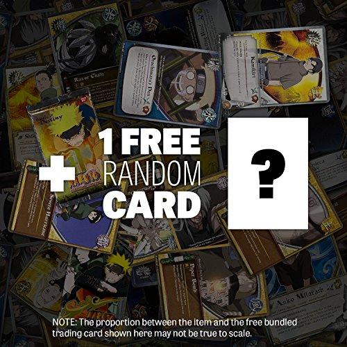Naruto Uzumaki Action Figure: Naruto Shippuden x Tamashii Nations S.H. Figuarts Series + 1 FREE Official Naruto Trading Card Bundle