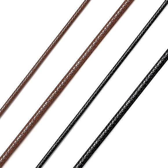 collier cuir marron femme