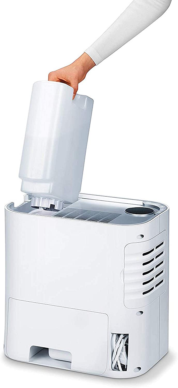 Beurer LR330 Purificador de aire con humidificador, hasta 35m2, 3 ...