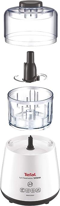 Tefal Moulinette Robot de cocina, 1000 Vatios, color blanco: Tefal: Amazon.es: Hogar