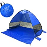 Lightahead Backpacking-Tents lightahead Automatic pop up uv Resistant 'uv50 ' Sun Shade Portable Camping Tent picnicing Fishi