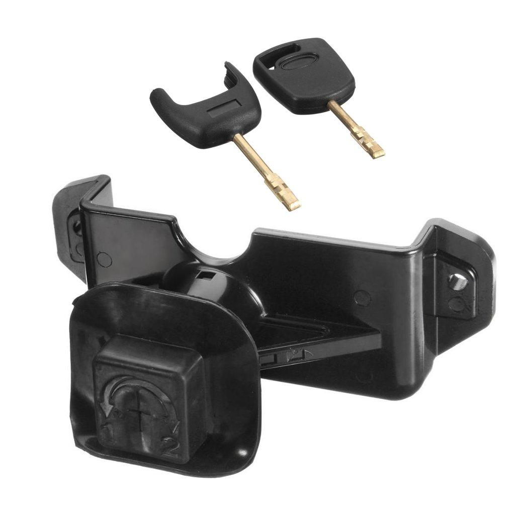 Baoblaze Brand New Durable Bonnet Lock Latch Complete Set 2 Key for Ford Transit MK7