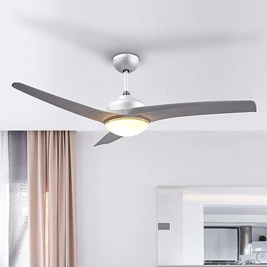 CAGYMJ Invisibilit/à Soffitto Ventilatore Luce con Telecomando Moderno LED Lampadario Interna Soggiorno Creativo Soffitto Minimalista Droplight,A