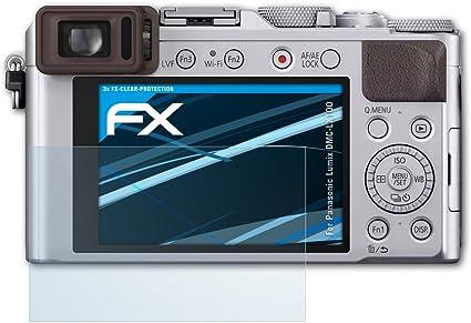 Atfolix Schutzfolie Kompatibel Mit Panasonic Lumix Kamera