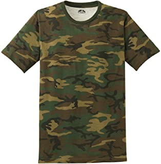 Amazon.com  Military Camouflage T-Shirt Camo Crewneck Tee Short ... abead865732