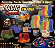 Magic Tracks Race Track Set - Glows in the Dark - 10 ft - 200 Pieces with 2 Light Up Race Cars