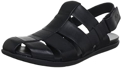 clarks mens casual valor sky leather sandals