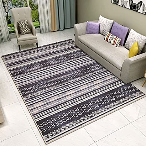 Amazon.com: Area Rugs- Alfombra estilo nórdico moderna ...