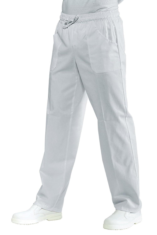 Isacco Pantalone con elastico bianco S
