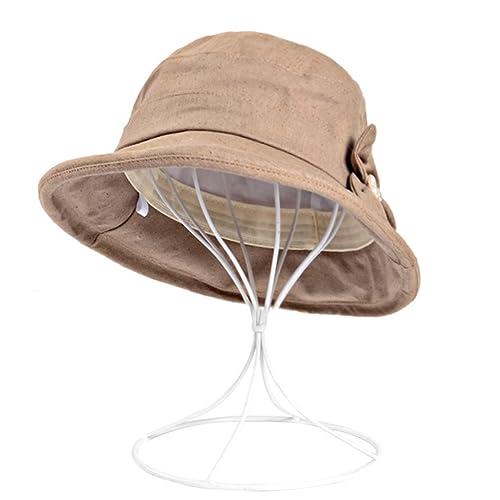 Verano Señoras Algodón Casquillo Del Recorrido Al Aire Libre Dayan Mao Sombrero De Playa Sombrero De...