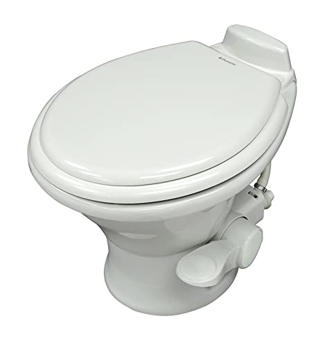 Phenomenal Dometic White 310 Series Low Profile Toilet 14 Height 302311631 Slow Close Wood Seat Short Links Chair Design For Home Short Linksinfo