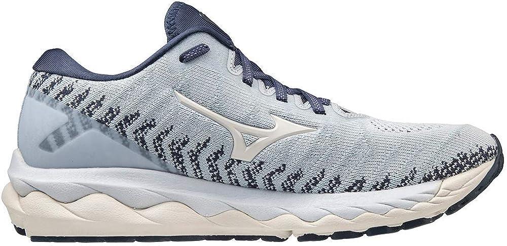 Mizuno Womens Wave Sky 4 Waveknit Running Shoe