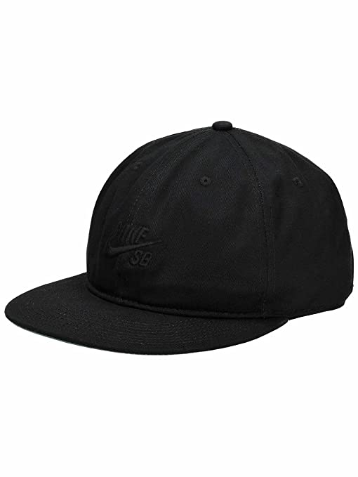 e3ba5b2b15f Amazon.com  Nike SB Pro Vintage Snapback Hat (Black Pine Green Black Black)   Sports   Outdoors