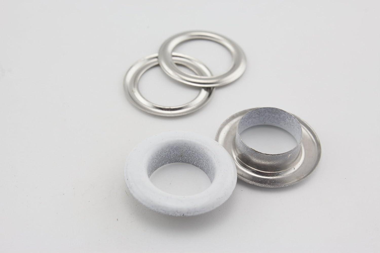 Ojales y arandelas de cobre de 12 mm para ropa 9 colores a elegir 12 mm Setting tools bolsas manualidades de cuero manualidades y reparaci/ón de ropa