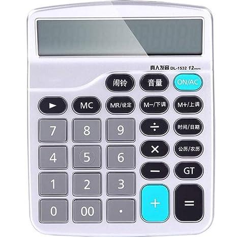 Amazon.com : Calculator Voice Computer Live Voice 12-bit ...