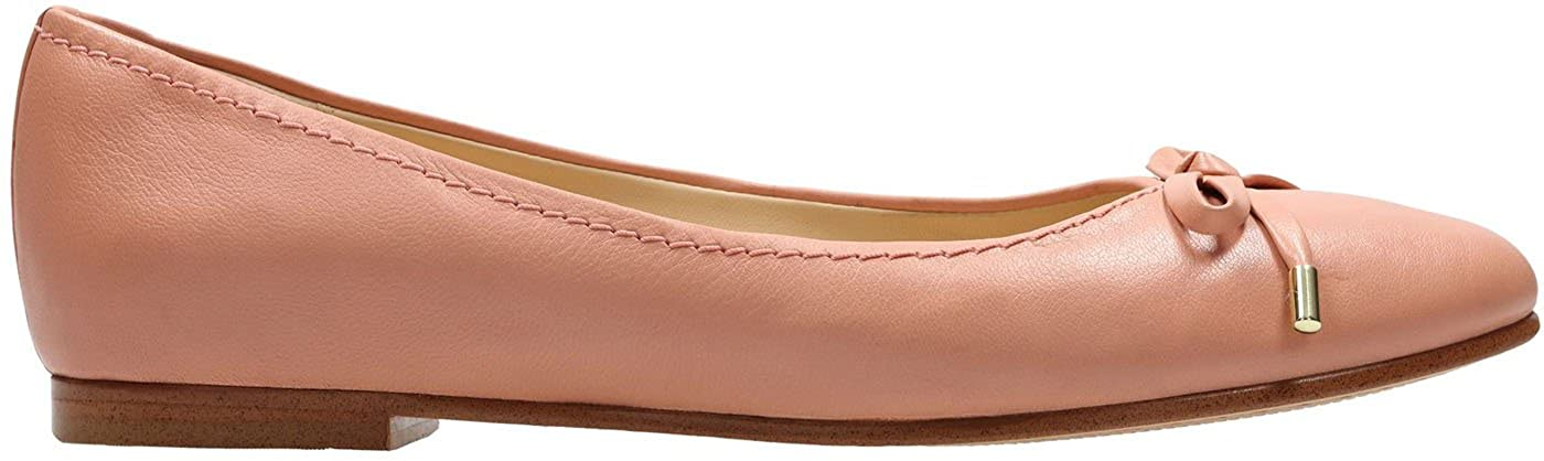 Color: Pink Leather Womens Grace Anna Shoe Size: 9.5 B CLARKS US M