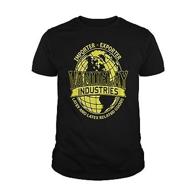 Mens Vandelay Industries T Shirt S Black
