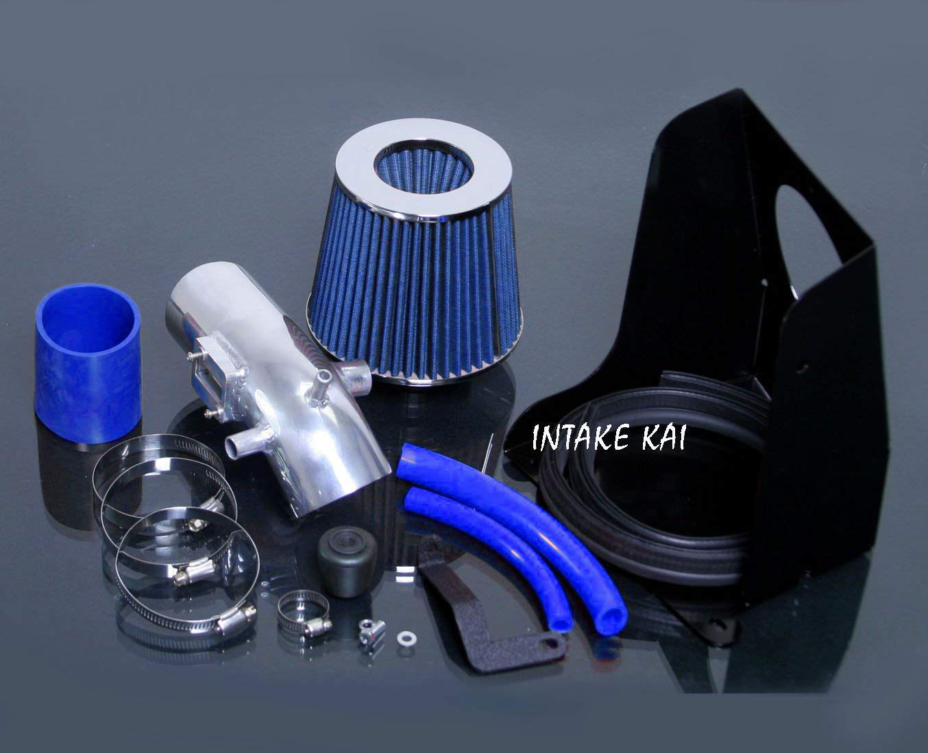 Performance HEATSHIELD Cold AIR Intake KIT Filter for 2006-2012 Ford Fusion 2.3 2.3L 2.5 2.5L L4 Engine