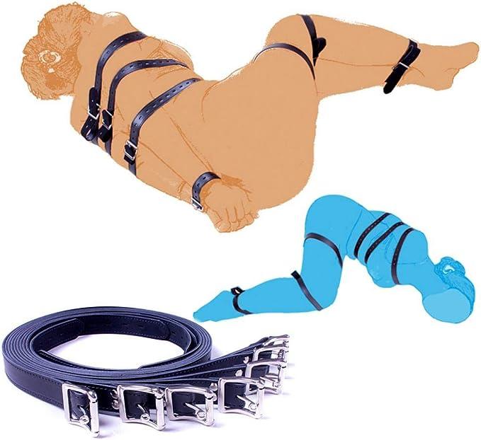bondage cuffs Leather Thigh Harness bdsm toys bdsm clothing HANDMADE