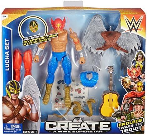 Create a WWE Superstar Rey Lucha Pack: Amazon.es: Juguetes y juegos