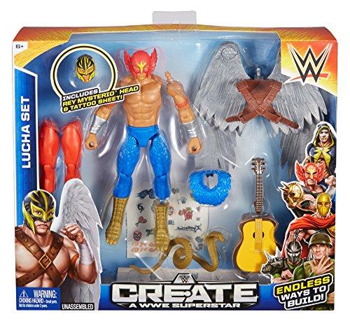 Create a WWE Superstar Rey Lucha Pack by Mattel