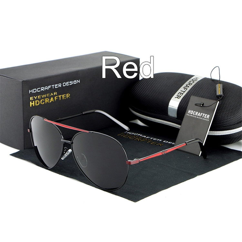 Lnabni Pilotenbrille Sonnenbrille f¨¹r Herren Polarisierte Outdoor Sport brillen UV 400