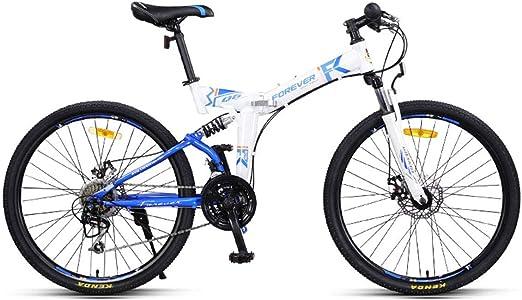 Dapang Bicicleta de montaña MTB Plegable de Doble suspensión ...
