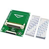 """1.8"""" Compact Flash CF Memory Card to CE Ipod ZIF SSD HDD Adapter with 2 Cables"""