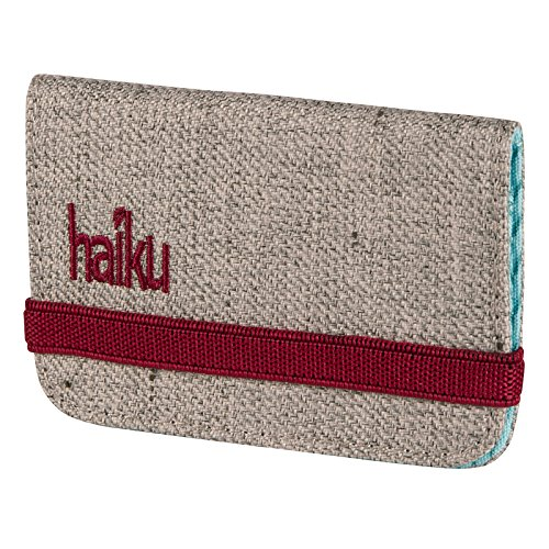Haiku Women's RFID Eco Mini Wallet, Mushroom