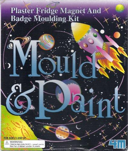 Mould & Paint Plaster Fridge Magnet and Badge Moulding Kit (Moulding Kit)