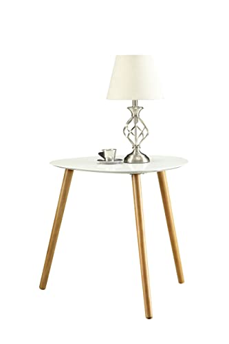 Convenience Concepts Oslo End Table, White