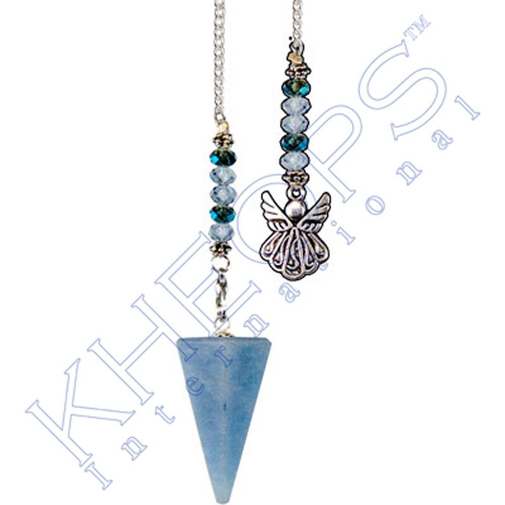Kheops International - Hexagonal Pendulum Angelite - Angel (61060) by Suna (Image #1)