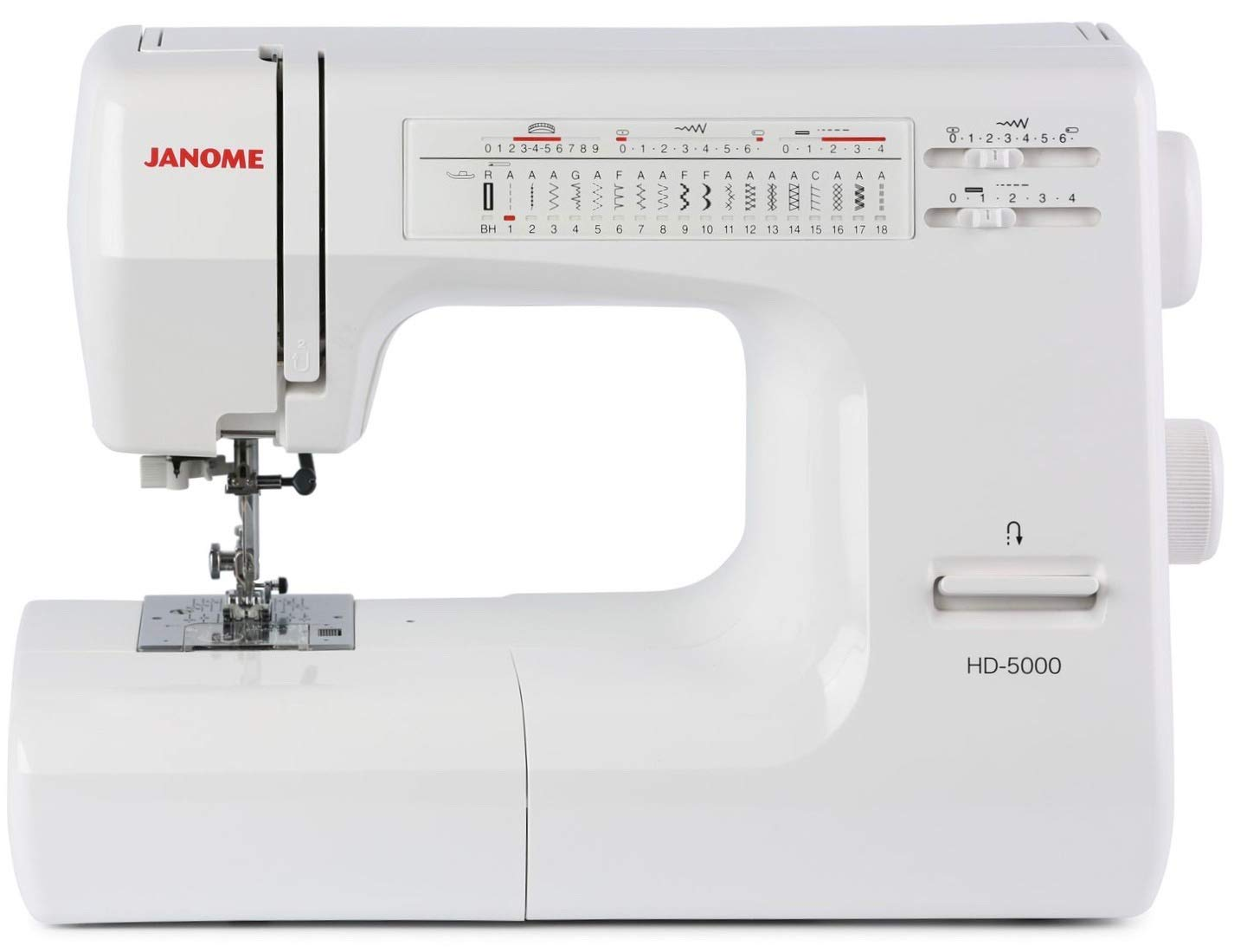 Janome HD5000 Heavy-Duty Top of the line (All Mechanical): Amazon.ca: Home  & Kitchen