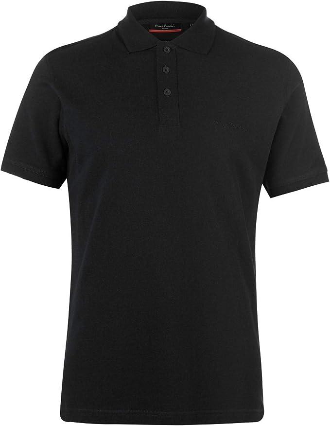 Pierre Cardin Mens Plain Polo Shirt