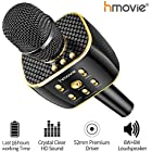 Karaoke Machine Pro Wireless Karaoke Microphone w/ 16 Hours Playtime Bluetooth Speaker for Singing, Recording, Interviews or Podcasts