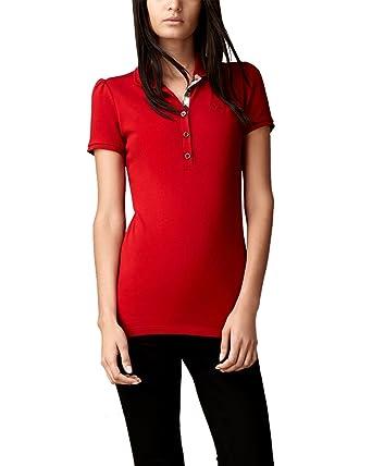 BURBERRY - Polo pour Femme YSM70254  Amazon.fr  Vêtements et accessoires 53d2dbb2336a