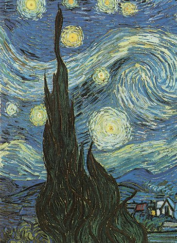 Items Notebook - Van Gogh's Starry Night Notebook