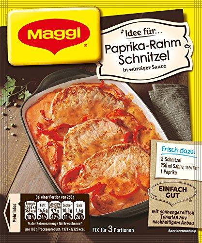 Maggi Fix Paprika Schnitzel 33er Pack 33 X 35 G Beutel Buy