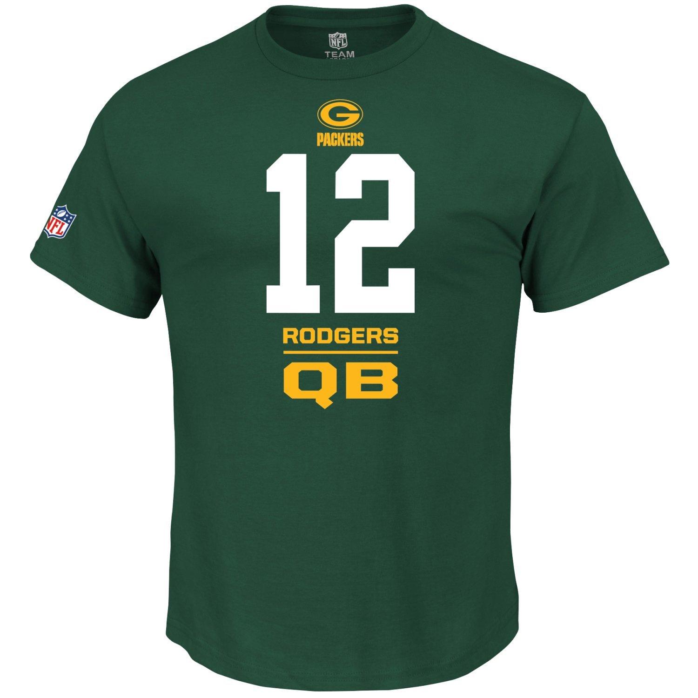 Majestic NFL camicia – verde verde verde Bay Packers Aaron Rodgers Qb   12, Uomo, Celtic verde, XL | Nuovo Stile  | Alta sicurezza  | Il Prezzo Di Liquidazione  | Tecnologia moderna  | Nuovo Prodotto 2019  5e3d1c