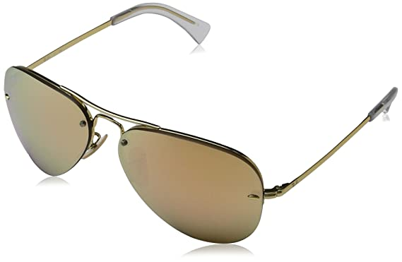 Ray-Ban Mens 0RB3449 Aviator Sunglasses