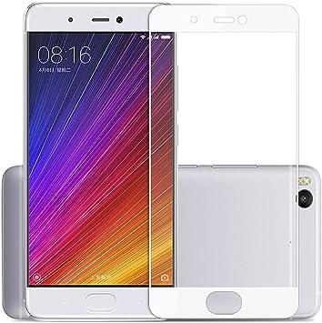 Xiaomi Mi5S Protector de Pantalla Cristal, SMTR® Edge-Cobertura completa: Amazon.es: Electrónica