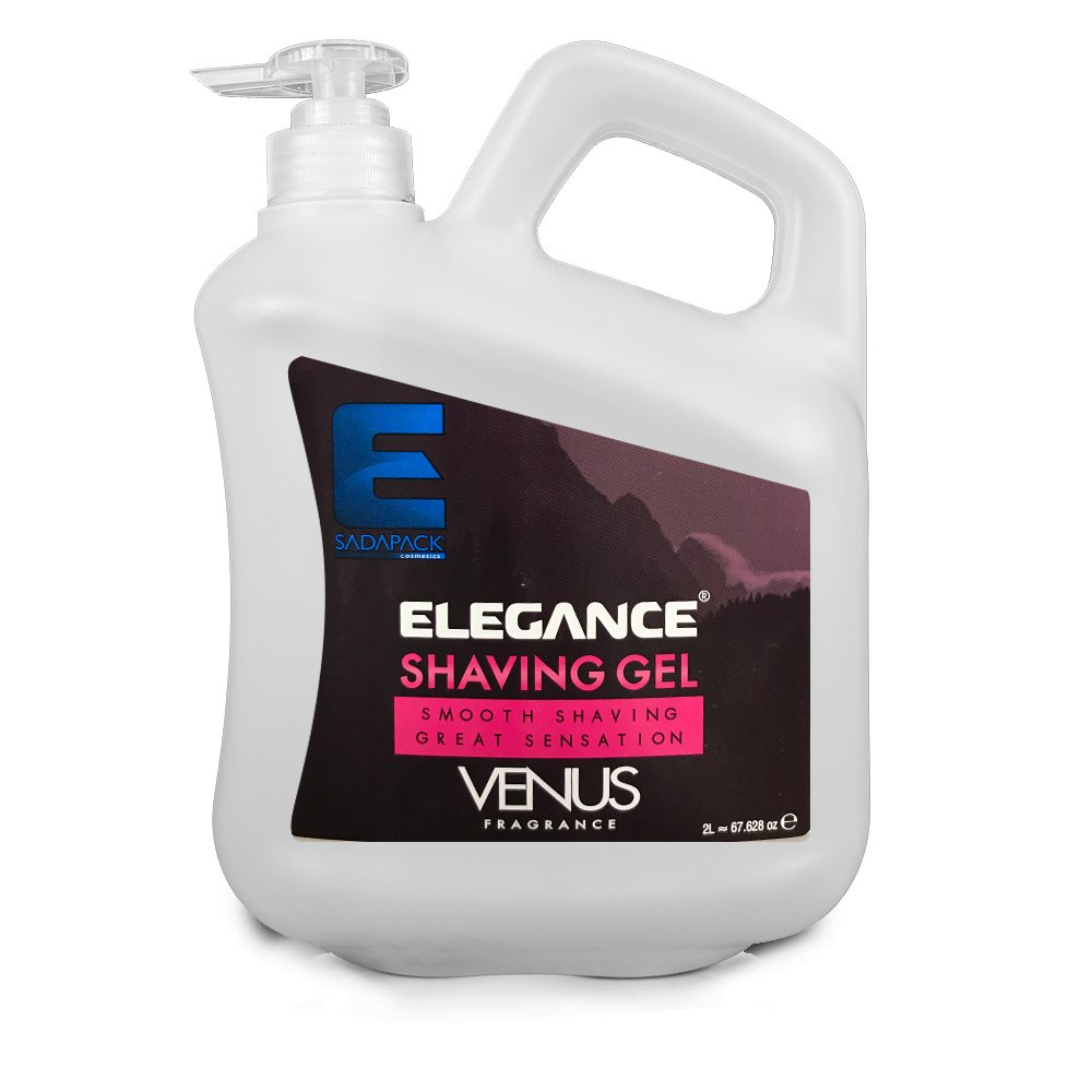 ELEGANCE PLUS Barber Salon Men Skin Pink Venus Shaving Gel 2L BB-20477