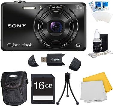 """Cámara digital Protector de pantalla para 3/"""" Sony Cybershot WX350 18MP Zoom 20-3 Paquete"""